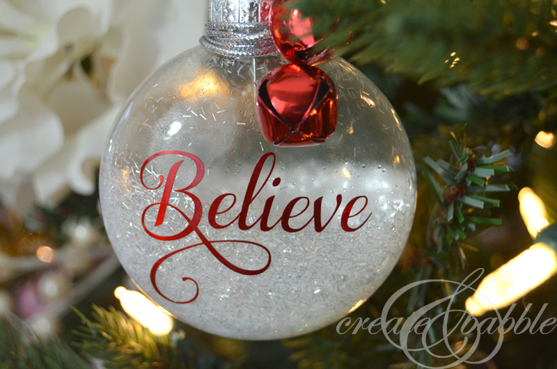 Diy Glitter Christmas Ornaments Createandbabble