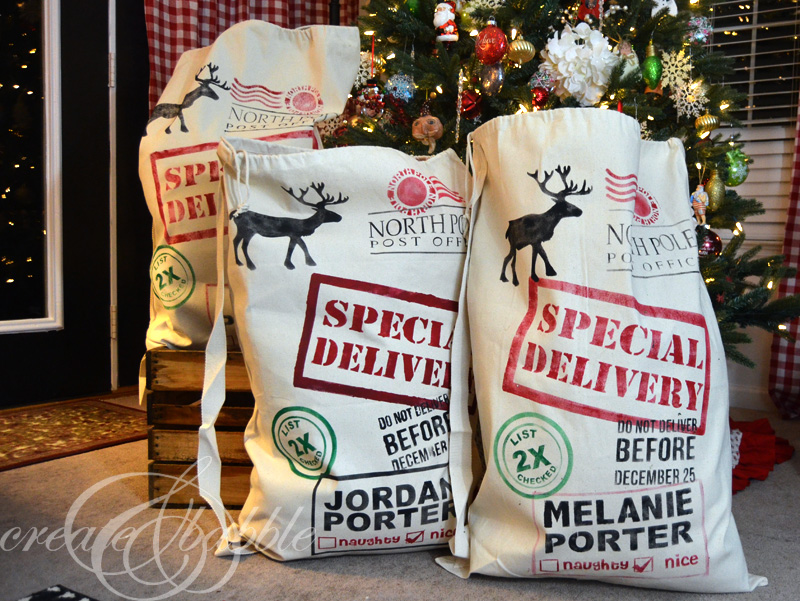 stenciled-santa-sacks-createandbabble.com
