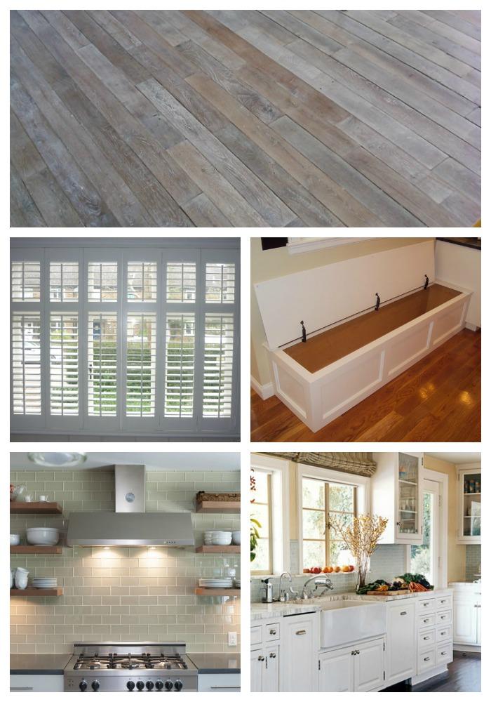 dream kitchen collage