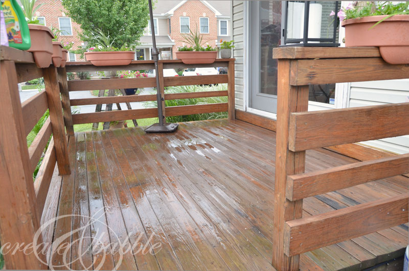 Furnishing a Small Deck