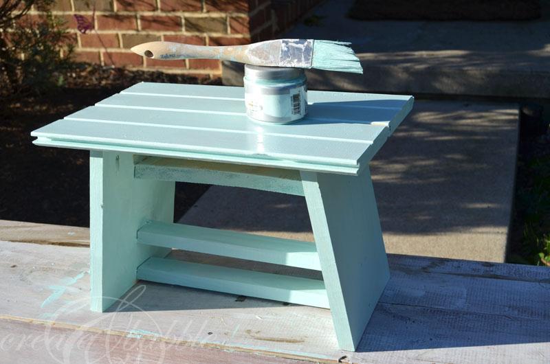 DIY Kitchen Step Stool