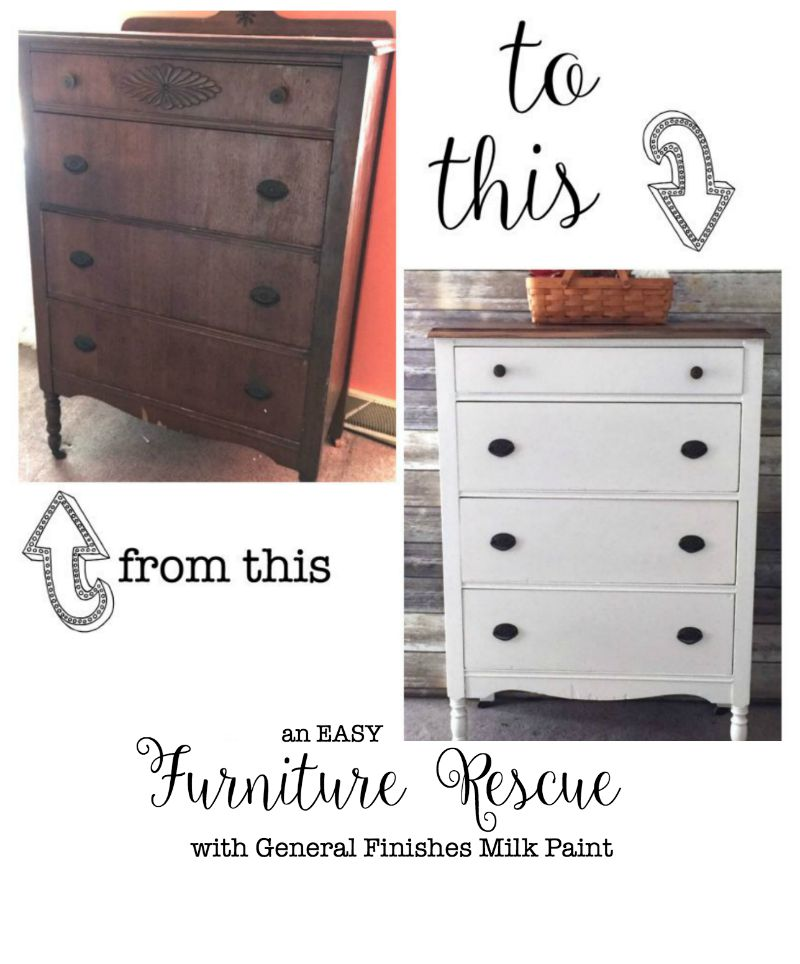 chest of drawers rescue