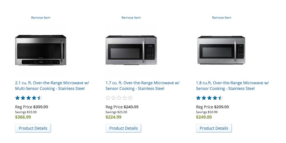 sears appliances