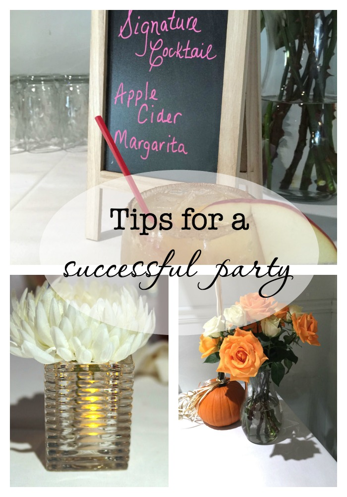 Tips for a Successful Party-createandbabble.com