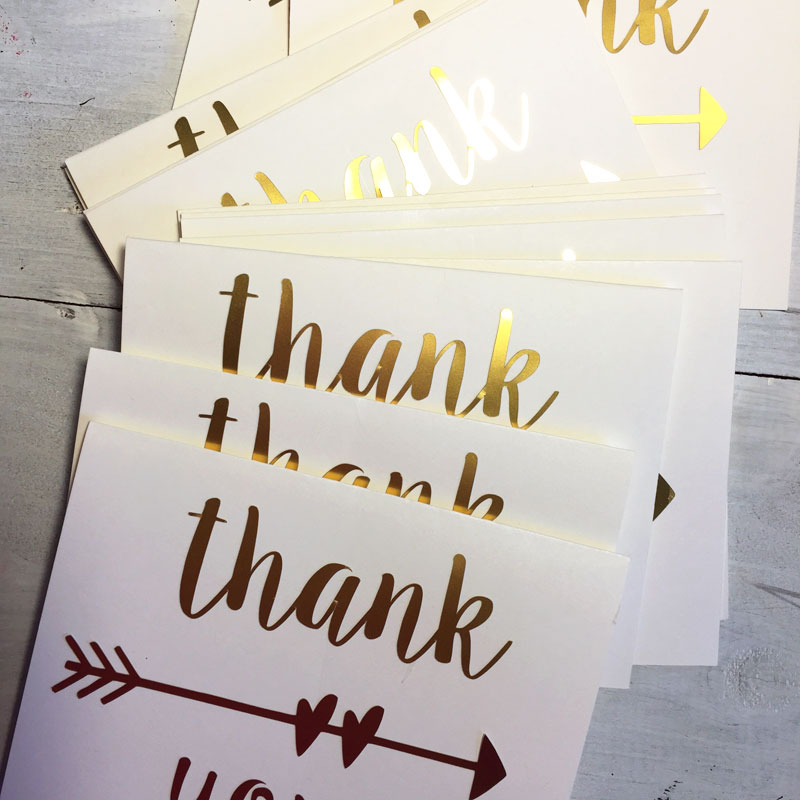 Diy Thank You Cards Create And Babble