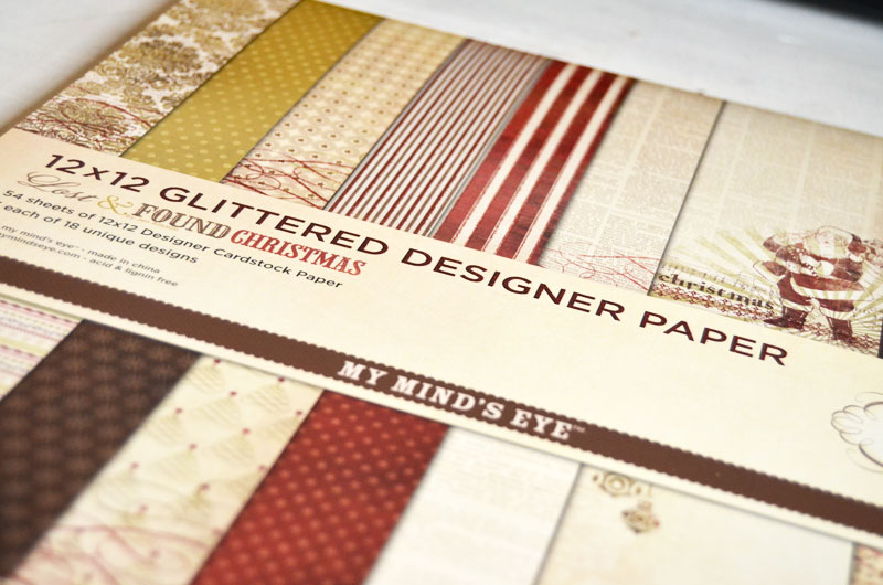 Glitter & Paper Christmas Banner-createandbabble.com