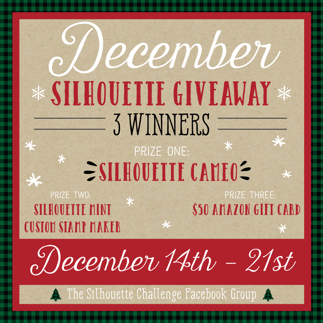 Silhouette Challenge Giveaway