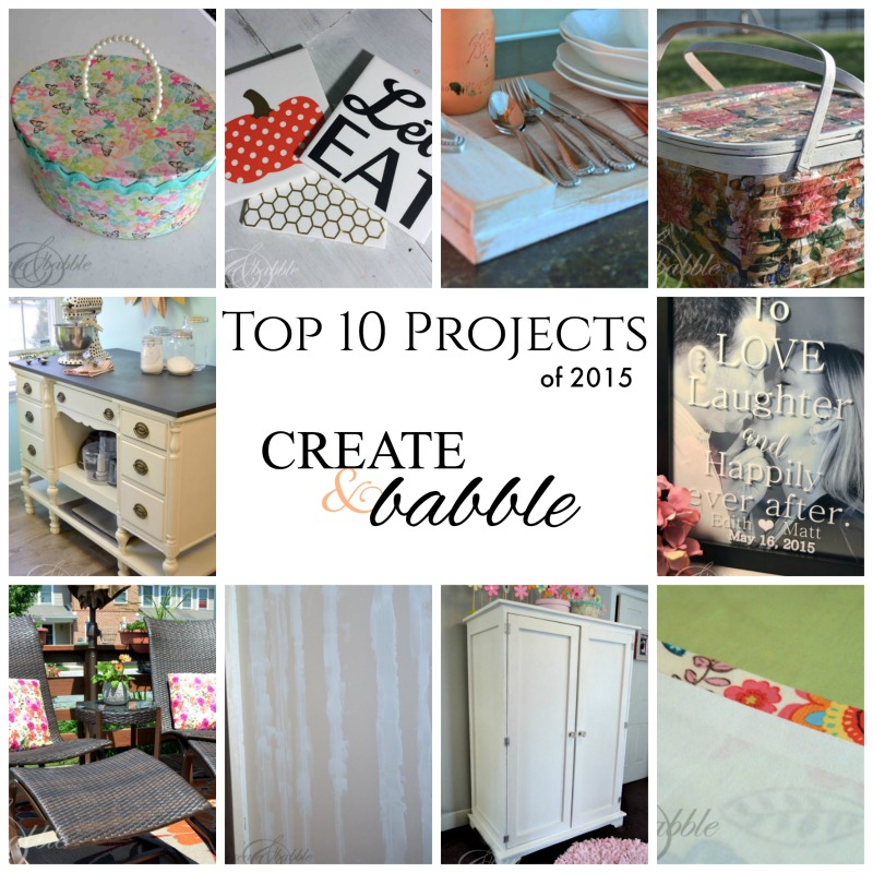 Top 10 Projects of 2015_createandbabble.com