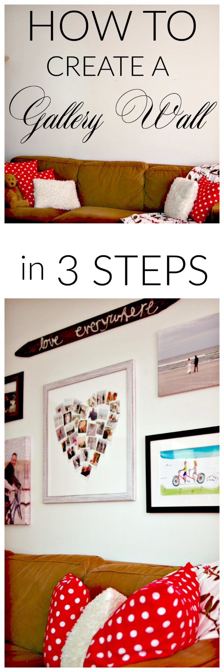 How to Create a Gallery Wall in 3 Steps