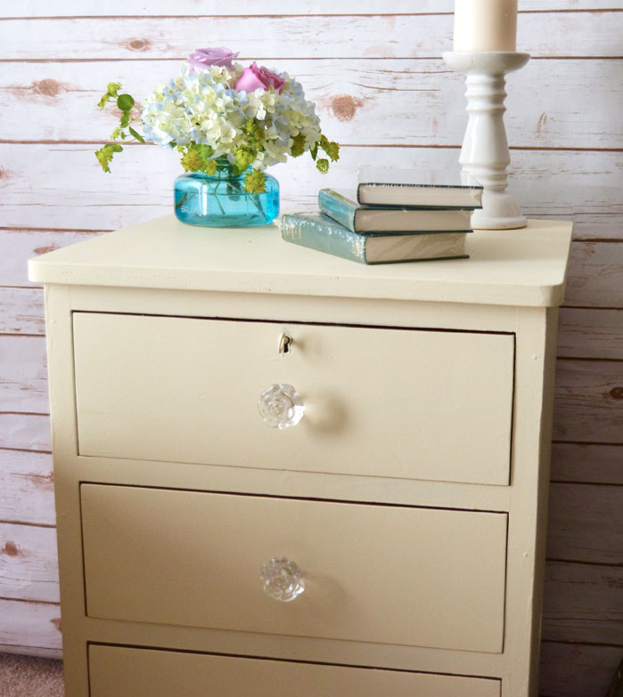 Pretty Painted Chest Of Drawers