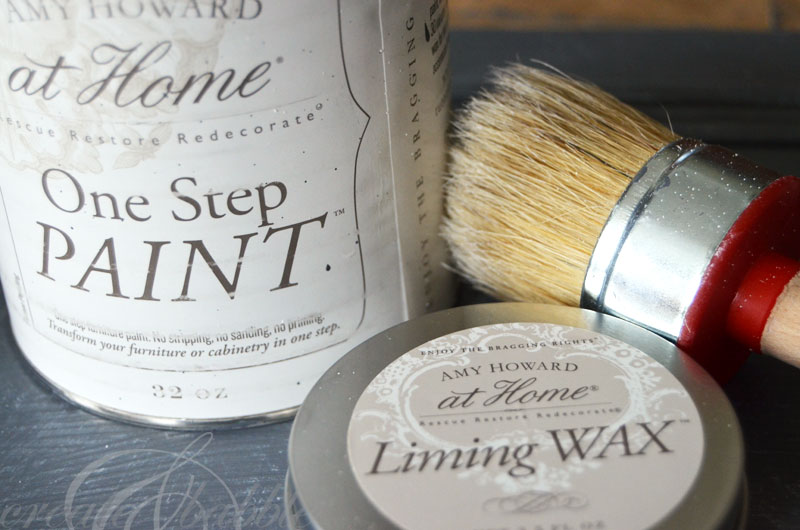Amy Howard at Home One Step Paint and Liming Wax