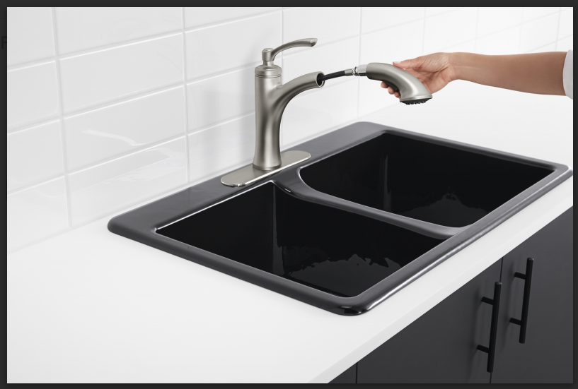 Kohler Kitchen Faucets At Lowes Create And Babble
