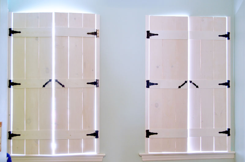 How to Make Indoor Shutters - Create and Babble