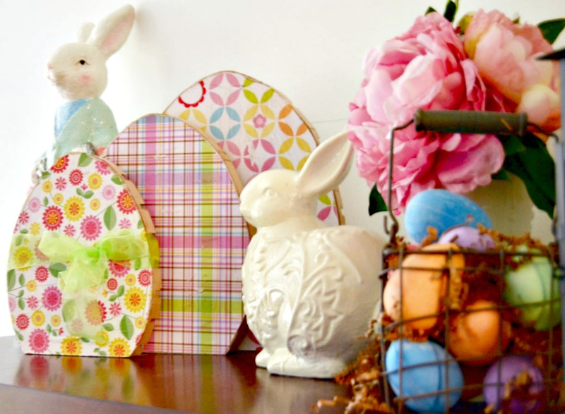 Wooden easter eggs by create and babble