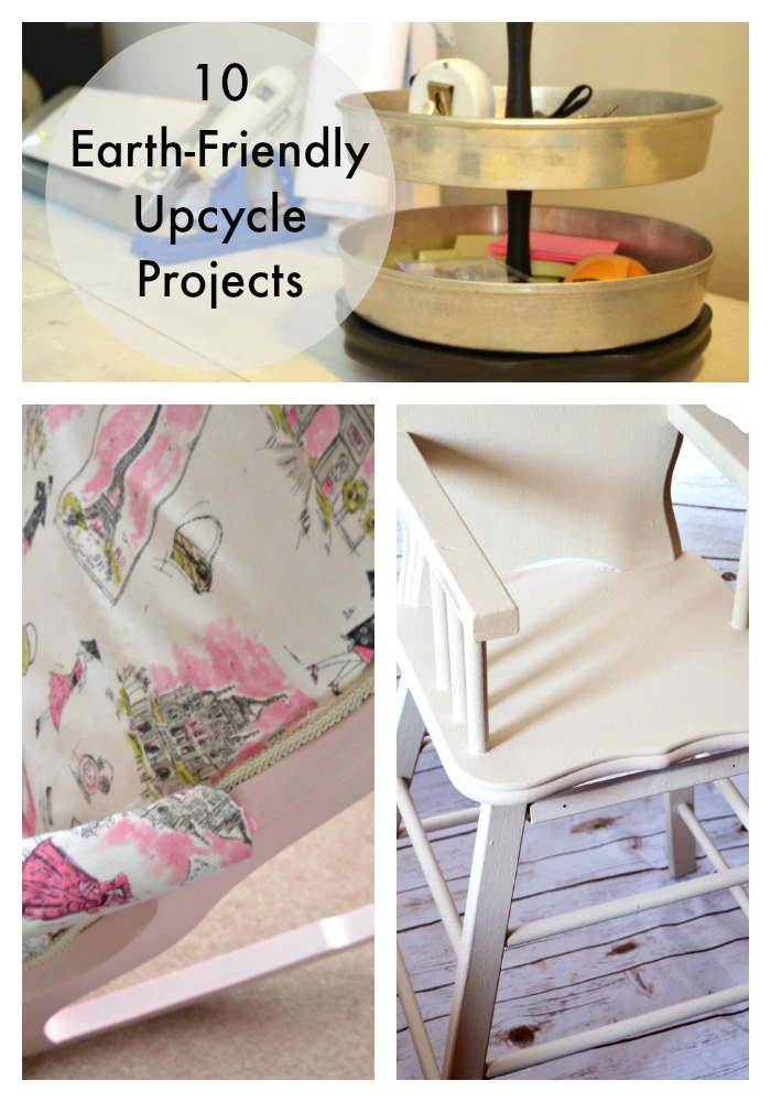 10 Earth Friendly UPcycle Projects on Create & Babble
