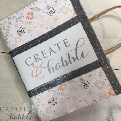 How to Make Pretty & Personalized Notebooks