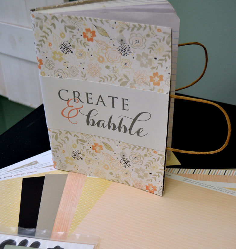 pretty and personalized notebook