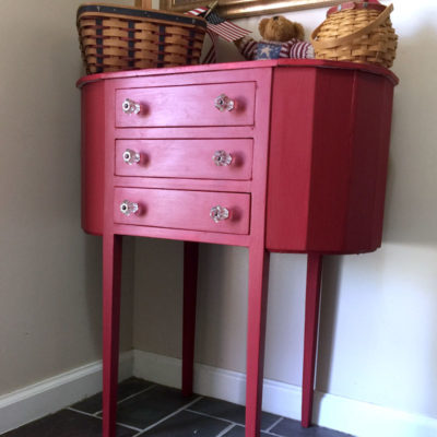 A Sewing Cabinet Makeover