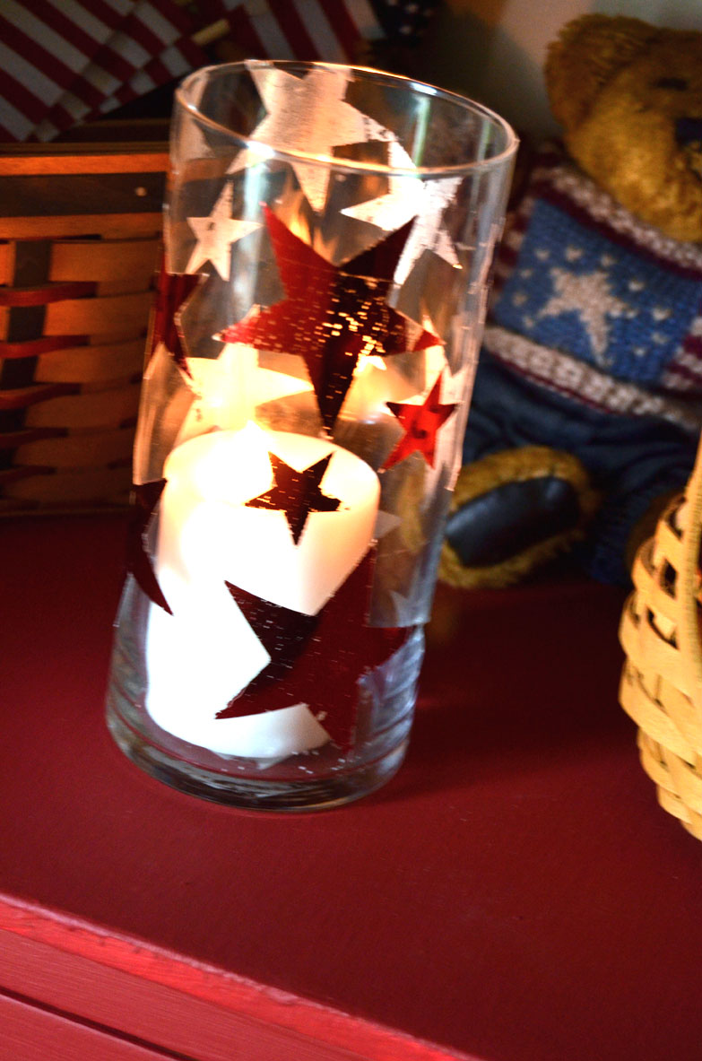 shabby-star-candle-holder