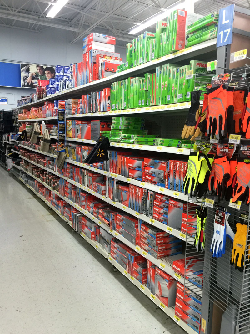find air filters at Walmart. Learn how to change your car's air filter