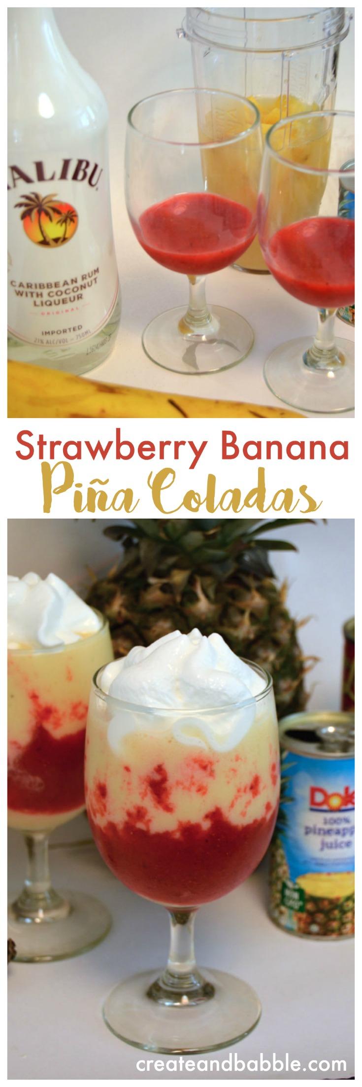 how to make strawberry banana juice