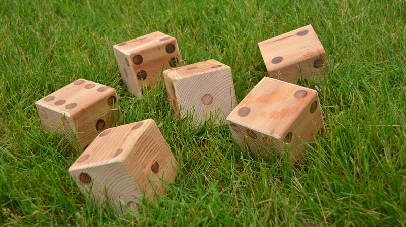 learn how to make lawn dice