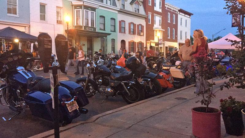 bike-nite-in-Williamsport,-MD