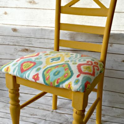 Chair Makeovers with Milk Paint