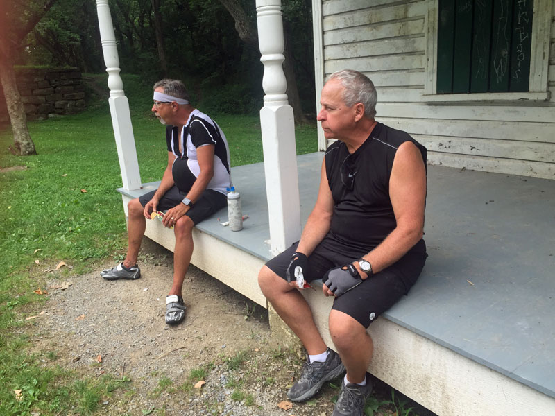 lunch-break-on-a-lockhouse-front-porch