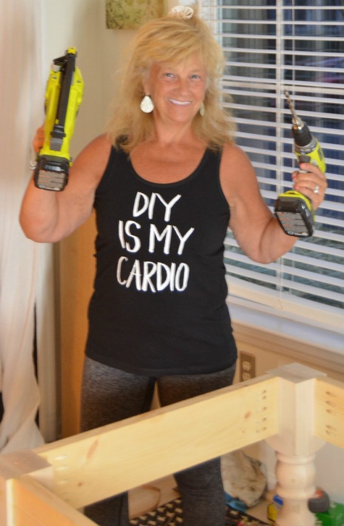 DIY is my cardio tee shirt