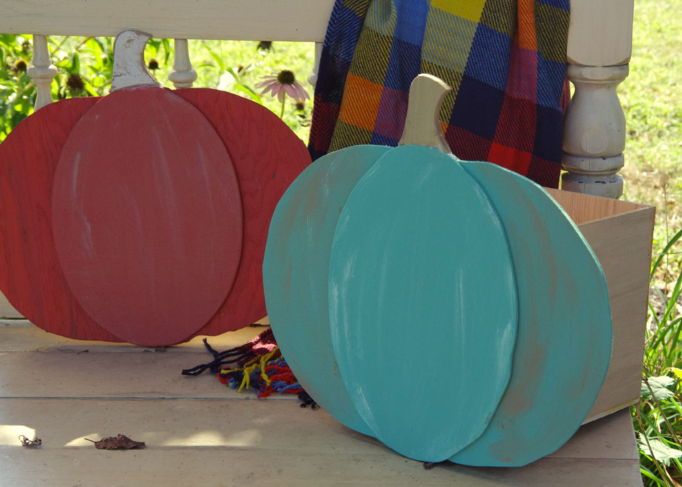 DIY Halloween Pumpkins with Built-in Treat Storage