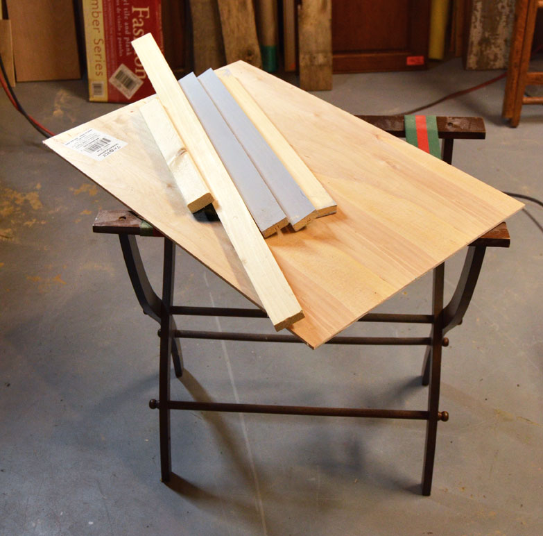DIY Portable Craft Table