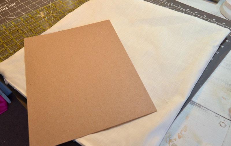 place-cardboard-inside-pillow