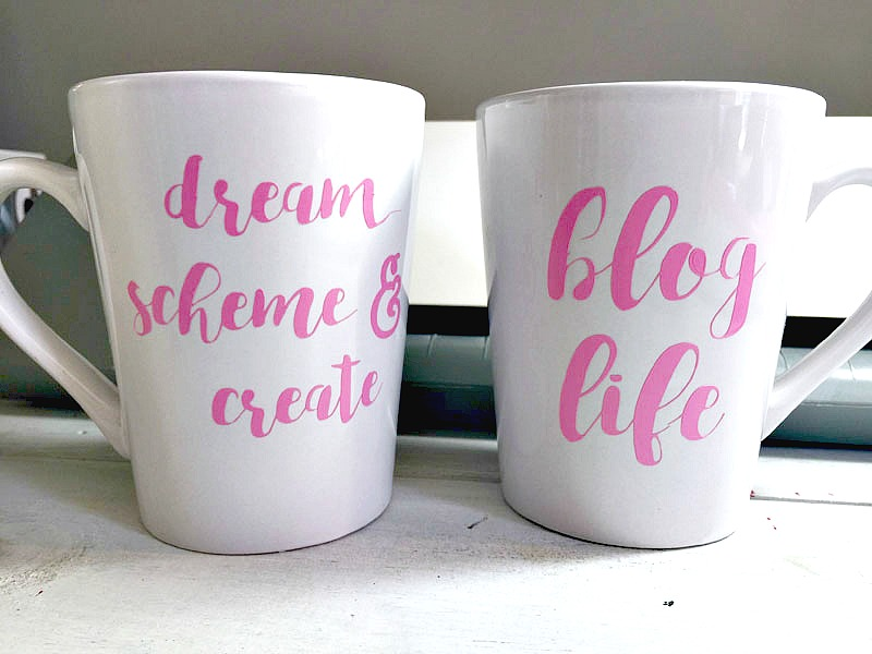 How To Make Double Sided Personalized Mugs