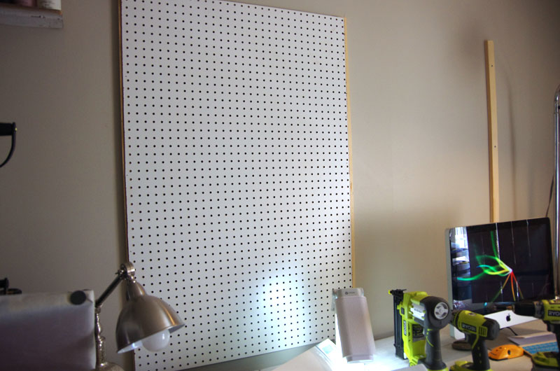 How to Build a Giant Pegboard