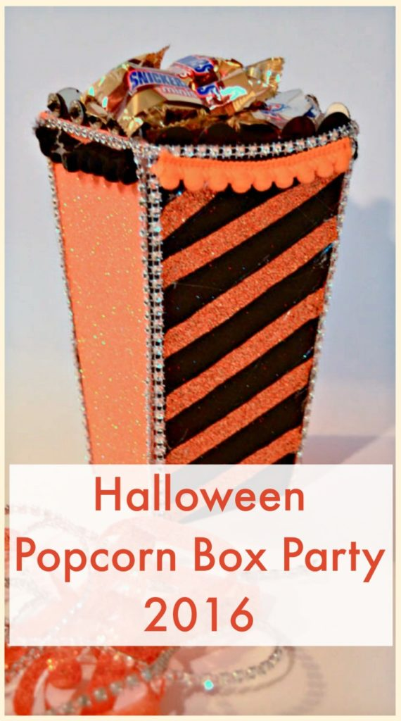 Popcorn Box Party 2016 Halloween Create and Babble