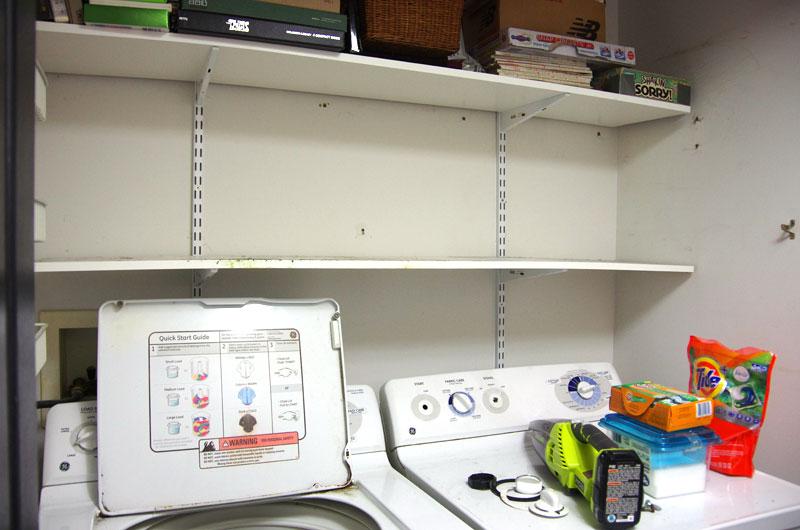 One Room Challenge Week 2 Laundry Room Progress