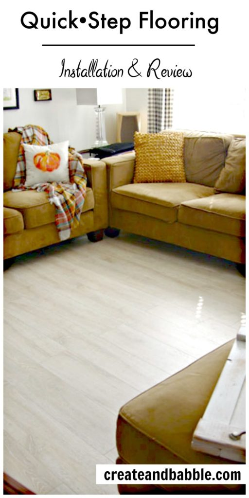 Quick Step Flooring Installation and Review
