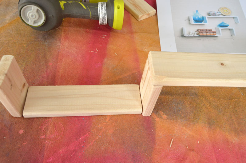 How to Build S Shelves for under $10