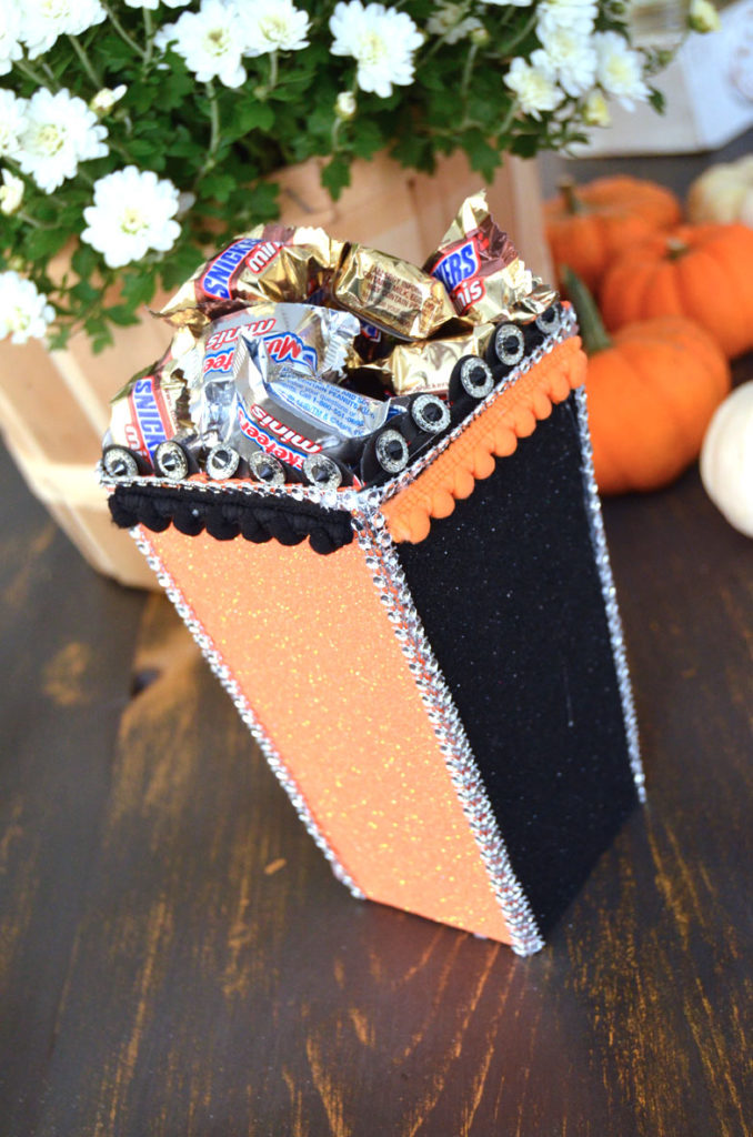 Popcorn Box Party Halloween 2016 Create and Babble