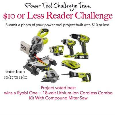 Power Tool Challenge Team Reader Challenge