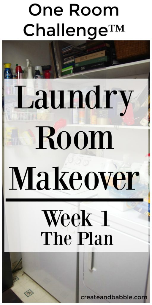 One Room Challenge Week 1