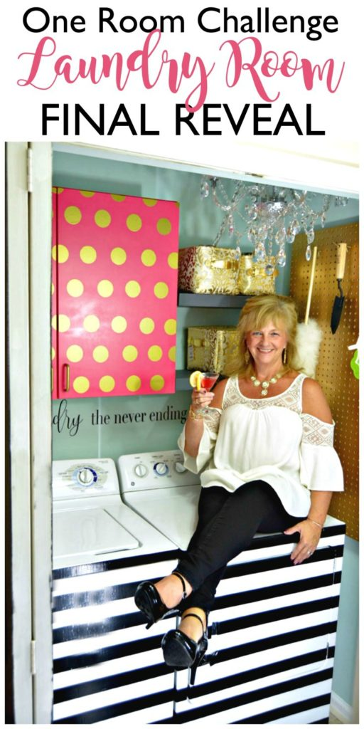 One Room Challenge Laundry Room Makeover Final Reveal