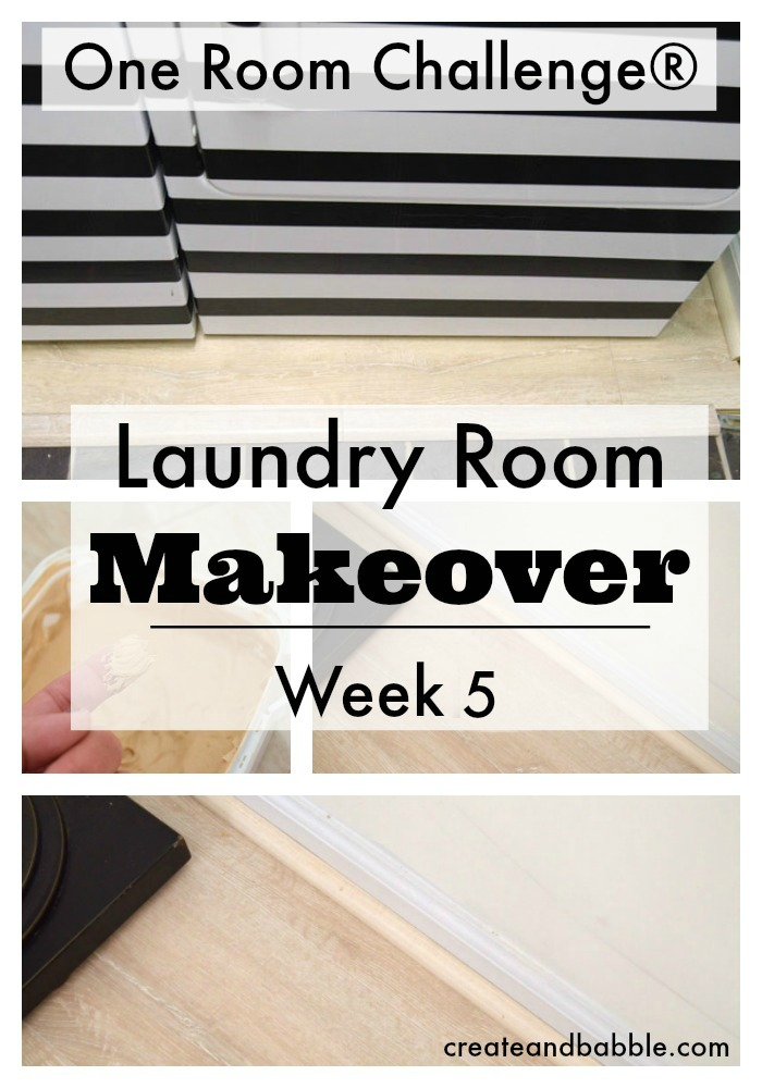 Week 5 One Room Challenge Update