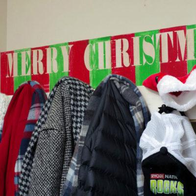 Christmas Coat Rack and $300 Ryobi Power Tool Giveaway