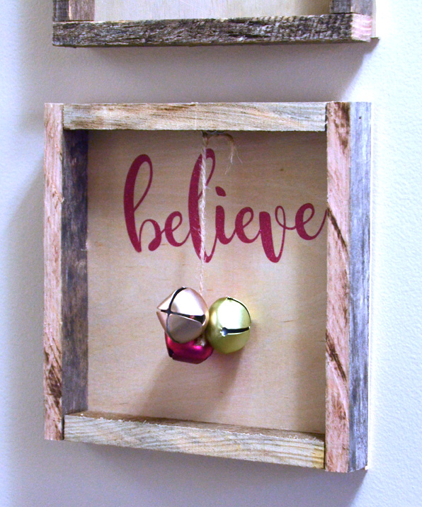 DIY Reclaimed Wood Shadow Box