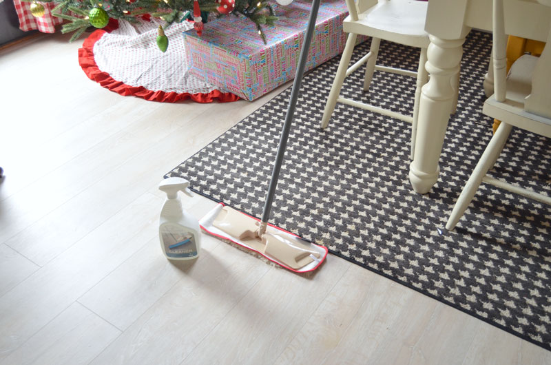 Care and maintenance of quick step laminate flooring