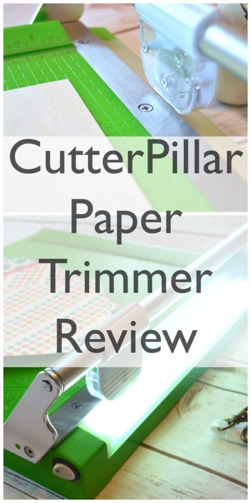 CutterPillar Paper Trimmer Review and discount code