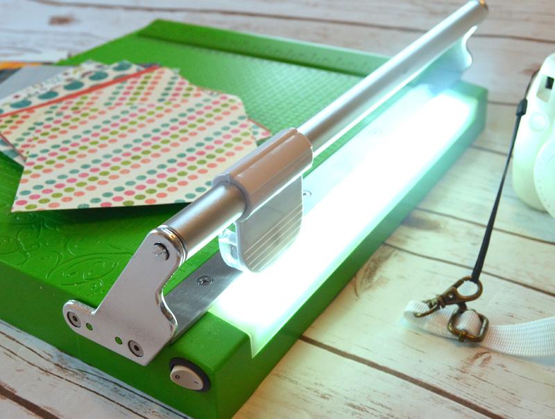 LED Light on CutterPillar Pro paper trimmer