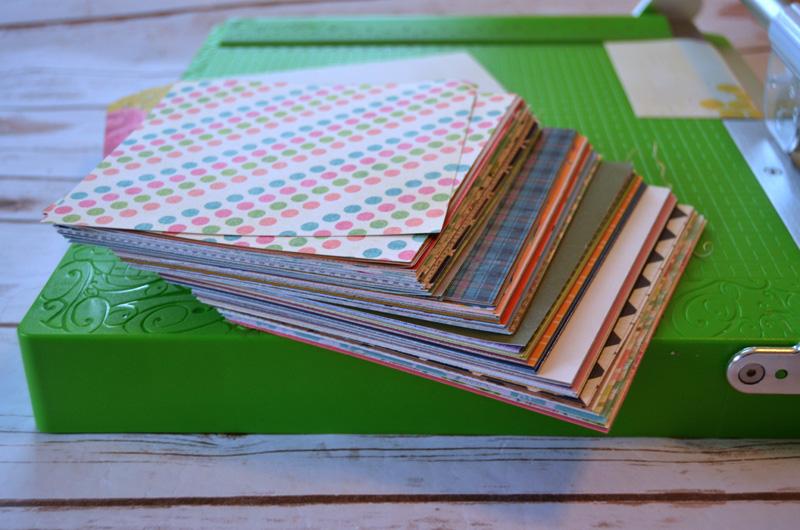 paper-scraps-cut-down-to-6x6-with-cutterpillar-pro-paper-trimmer